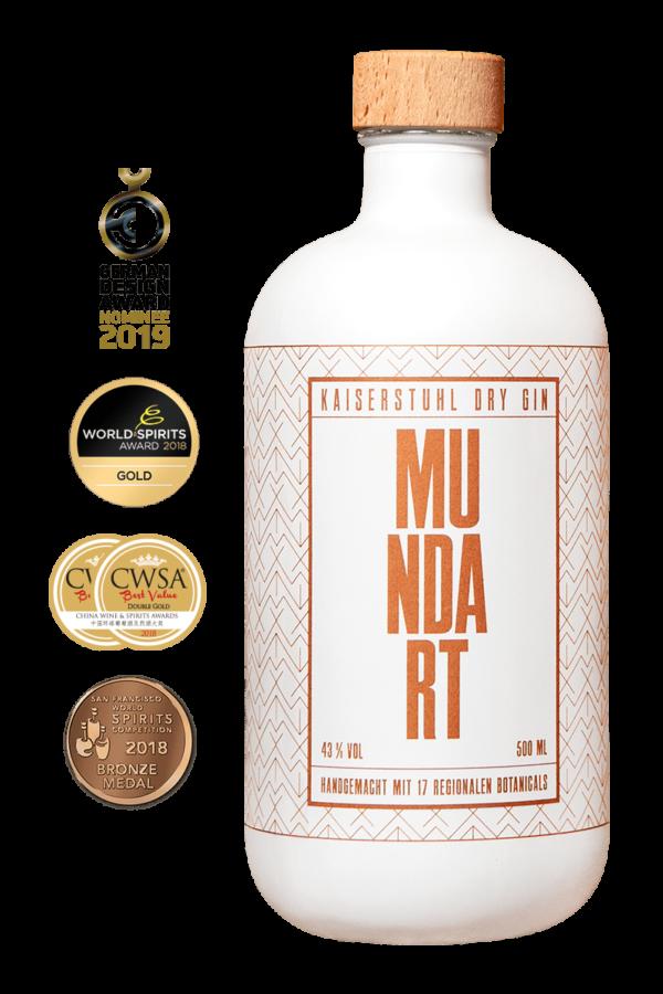 MUNDART – Kaiserstuhl Dry Gin